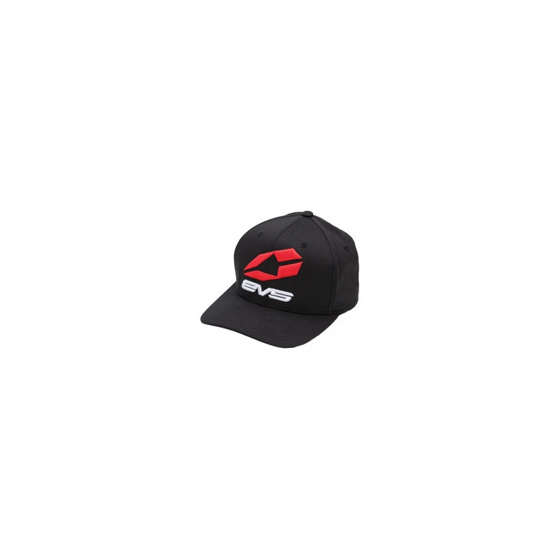 EVS TRACKSIDE SNAPBACK CORP BLACK