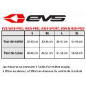 EVS KNEE BRACE WEB-PRO