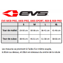 EVS KNEE BRACE RS9