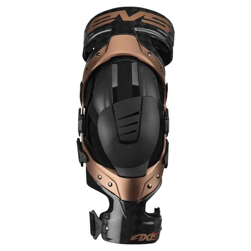 EVS KNEE BRACE AXIS-PRO BLACK-COPPER